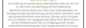 Springlehrgang – 18.-19. April 2015 auf dem Rodderberg
